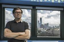 This photo provided by Facebook shows Yann LeCun.  Facebook is announcing several academic hires in artificial intelligence, including Carnegie Mellon researcher Jessica Hodgins, who's known for her work making animated figures move in more human-like ways. Yann LeCun, Facebook's chief AI scientist, says some of the best ideas for getting AI systems to learn faster and with less data are coming from the field of robotics.   (Facebook via AP)