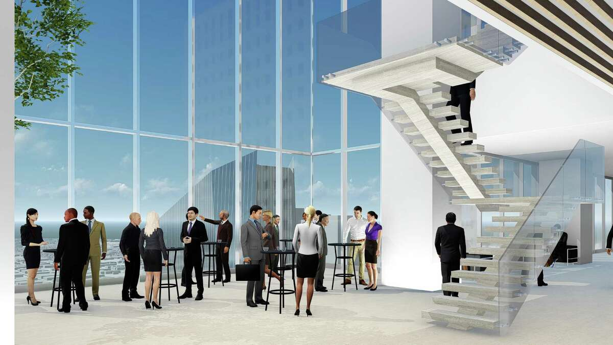Hines is breaking ground on a 47-story office tower downtown it says will be a ?