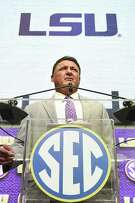 Ed Orgeron understands the intense scrutiny that comes with having a job like LSU's.