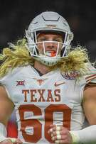 Breckyn Hager, heading into his senior season, has vowed not to get a haircut until Texas wins the Big 12.