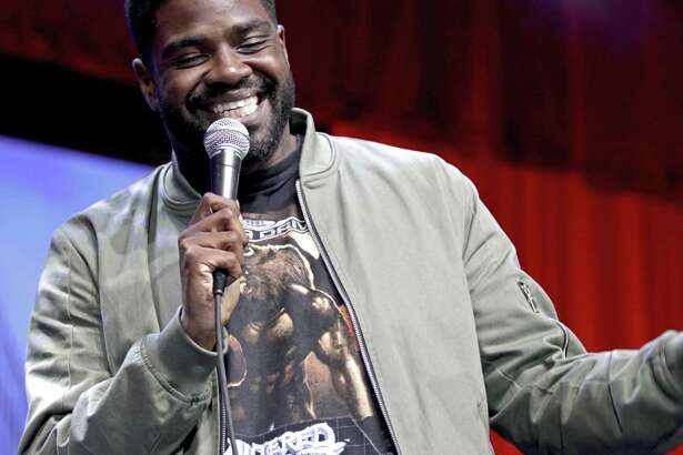 Ron Funches performs on the Bill Graham Stage last June during Colossal Clusterfest in San Francisco.