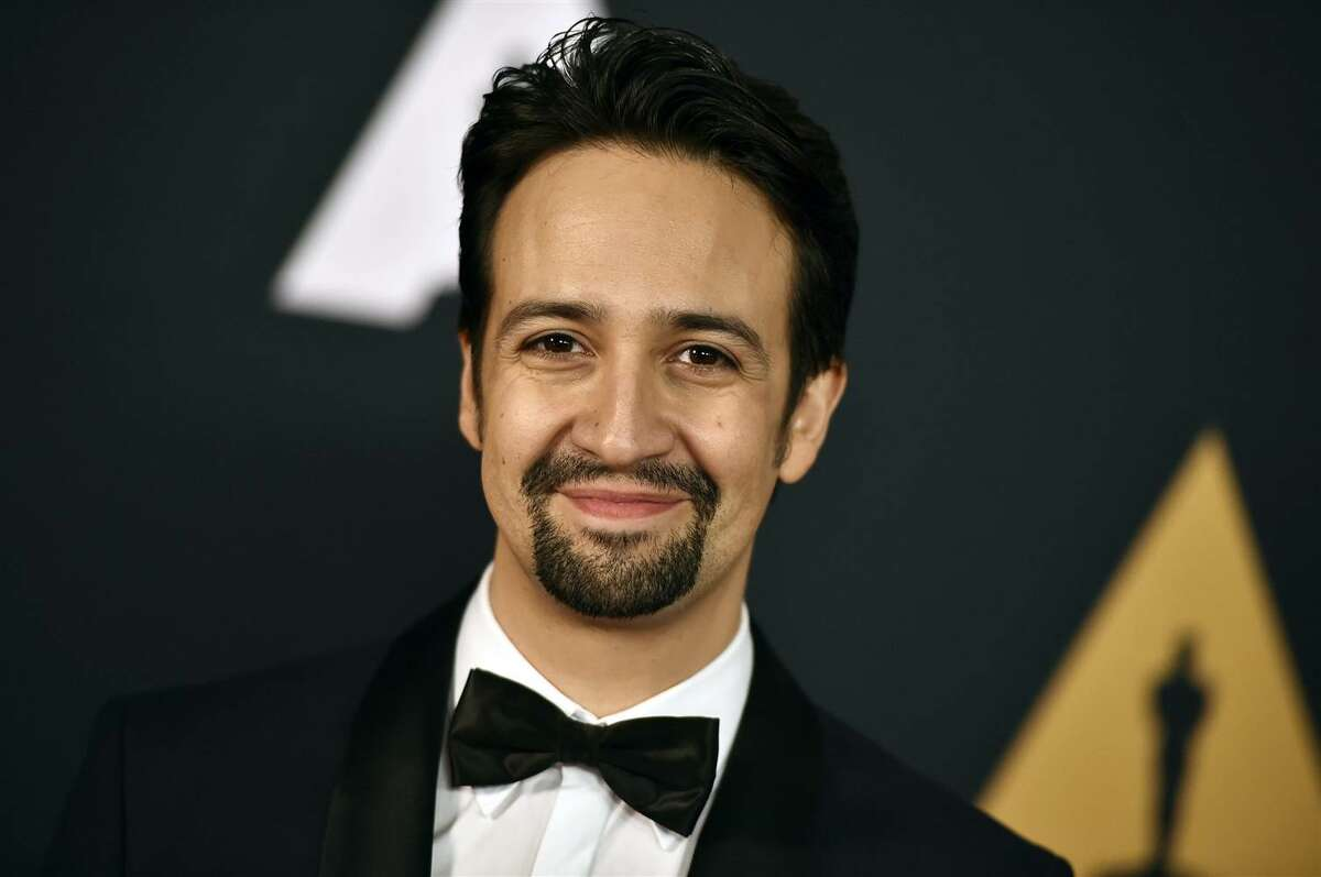 """Lin-Manuel Miranda, creator of """"Hamilton."""" His first musical, """"In the Heights,"""" will be performed by Park Playhouse in Albany in summer 2019."""