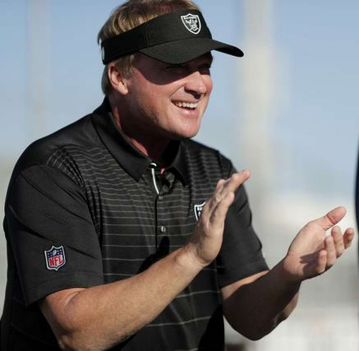 Raiders coach Jon Gruden says he's on a mission.