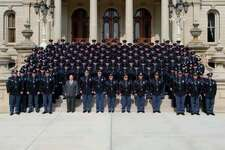 Four area recruits are among the 107 graduates from the 134th Michigan State Police Trooper Recruit School. (photo provided)