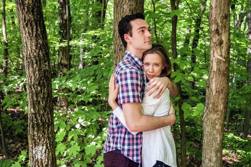 Woodrow Proctor andGwynedd Vetter-Drusch play Orlando and Rosalind in