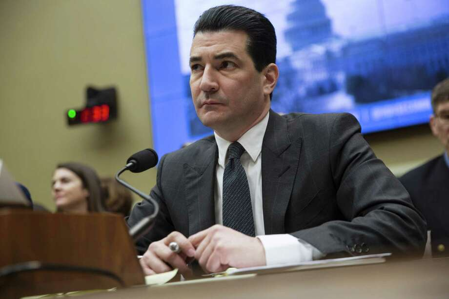 Scott Gottlieb, commissioner of the Food and Drug Administration, speaks at a congressional hearing on March 8, 2018. Photo: Bloomberg Photo By Toya Jordan Sarno / © 2018 Bloomberg Finance LP