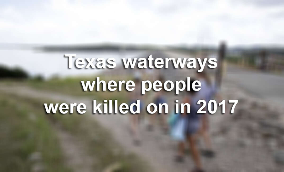 In 2017, 45 people were killed in boating accidents on Texas waters, according to a news release from the department. Click through the slideshow to see what Texas waterways people were killed on in 2017.