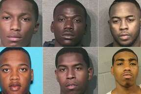 Six men, who are documented gang members or known to have those affiliations, were arrested after a multi-agency investigation linked to ATM thefts in Montgomery and Harris Counties.