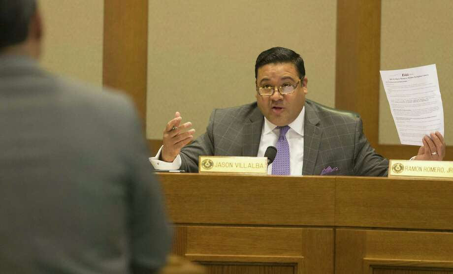 State Rep. Jason Villalba is calling on fellow Republicans to impeach Donald Trump. He is currently serving his last term in office after losing his re-election bid.  >> See who Trump is stumping for in Texas. Photo: Stephen Spillman / Stephen Spillman / stephenspillman@me.com Stephen Spillman