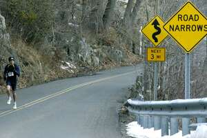 File photo of the road around Lake Waramaug