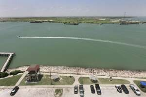 The Port of Corpus Christi announced Monday that global asset firm The Carlyle Group will build and operate a VLCC-capable terminal on Harbor Island (land pictured in background).
