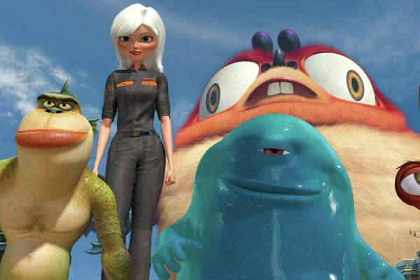 "The Alamo Drafthouse Cinema screens ""Monsters vs. Aliens"""