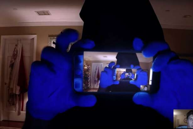 "A scene from the film ""Unfriended: Dark Web."""