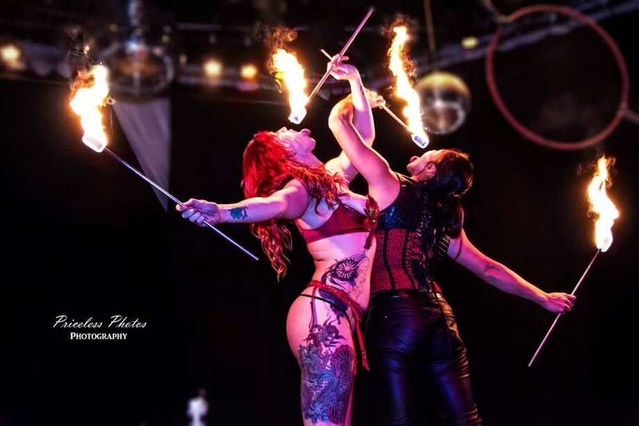 Performers at the Kinky Circus. Photo: Courtesy Photo / Courtesy Photo