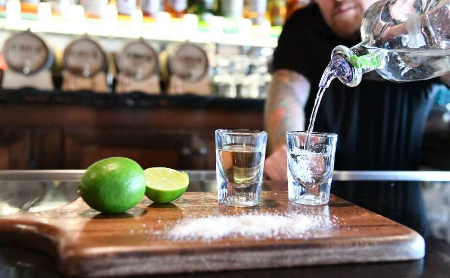 Tuesday is National Tequila Day. Click through the gallery to see where you can celebrate in Houston.  Photo: Cadillac Bar Houston / Cadillac Bar Houston