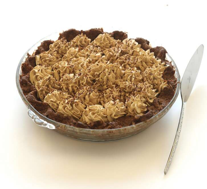 Blum's Coffee Toffee Pie styled by Sarah Fritsche on Friday, July 6, 2018 in San Francisco, Calif.