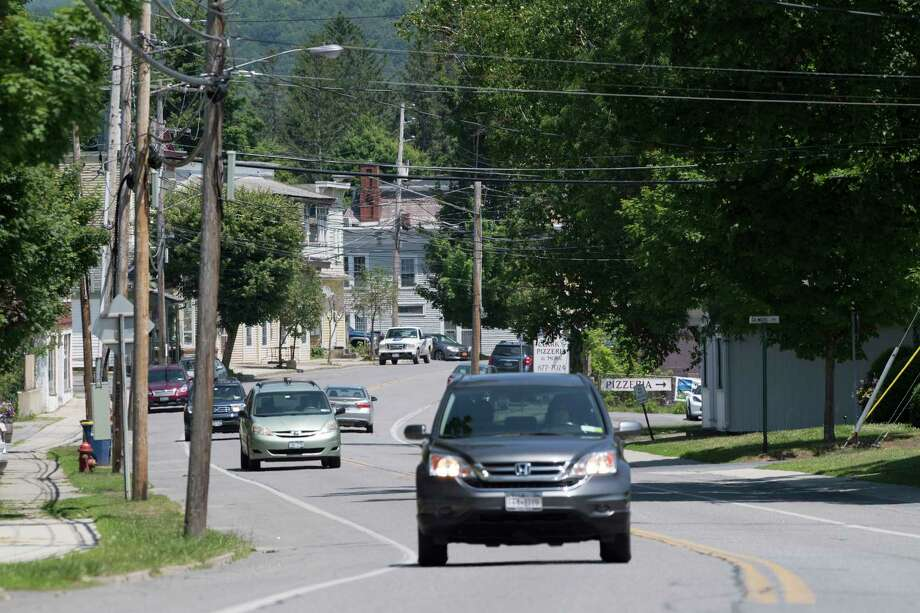 The main thoroughfare in the Village Thursday June 21, 2018 in Cambridge, N.Y. (Skip Dickstein/Times Union) Photo: SKIP DICKSTEIN / 20044155A