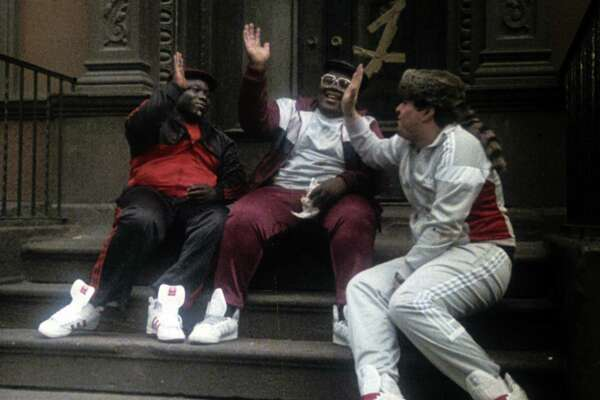 "The Fat Boys took a star turn in Schultz's hip-hop film ""Krush Groove."""