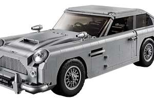Lego's new Creator Expert series James Bond Aston Martin DB5, priced at $149.99.