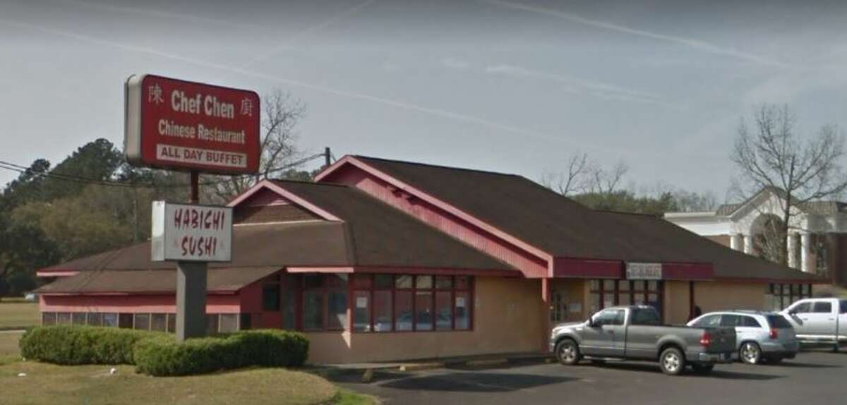 HARDIN COUNTY JUNE 2018 INSPECTIONS Chef Chen's 900 Highway 96 S Score: 58 Violations:Closed for 5 days pending exterminator. Dead and alive roaches in the kitchen, no lights in back restaurant, bad ceiling tiles, employee without hair nets, show on prep table, all counters sticky and cluttered, moldy ice machine, dirty kitchen floor, dirty, hood vents, dirty equipment, no trash can in kitchen, dirty cutting blocks, uncovered food.
