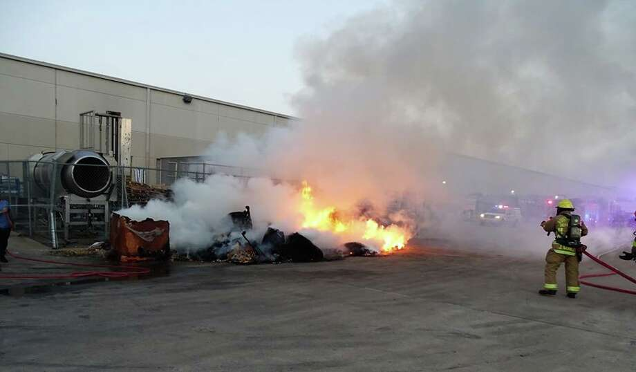 The Austin Fire Department was called to a tortilla chip factory last week after several cases of chips spontaneously combusted. Photo: Field Training Officer/Austin Fire Department