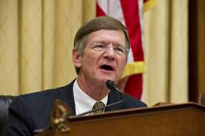 WASHINGTON, DC - May 03: Chairman Lamar Smith, R-Texas, during the House Judiciary oversight hearing with U.S. Attorney General Eric H. Holder Jr. on the Department of Justice. (Photo by Scott J. Ferrell/Congressional Quarterly/Getty Images)