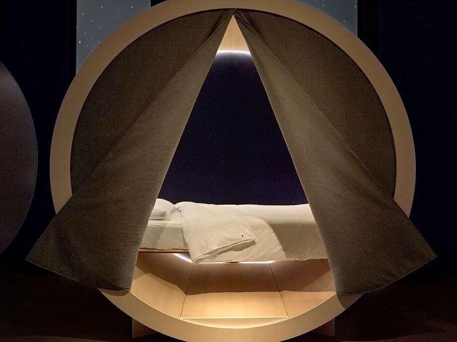 "The startup recently opened the Casper Dreamery, a spot to ""rest and recharge"" in New York City. For $25, anyone can walk into the Dreamery and book 45 minutes in a Casper Nook, a circular pod complete with a Casper mattress and pillow. Photo: Casper/Business Insider"