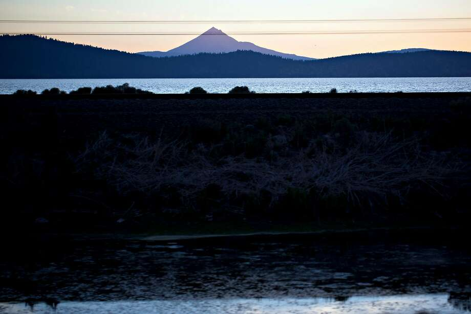 Upper Klamath Lake is at the center of a battle over water distribution. Photo: Justin Maxon / Special To The Chronicle