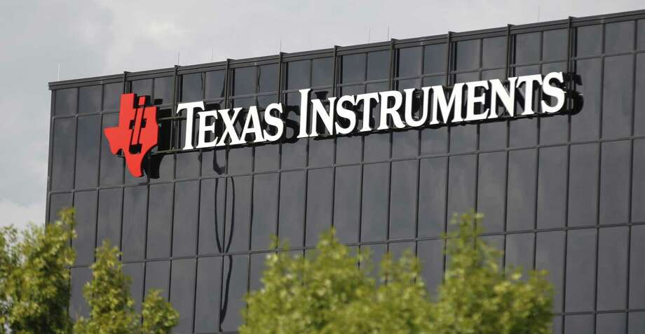 This Monday, Oct. 22, 2012, photo shows corporate signage on the offices of Texas Instruments, in Richardson, Texas. On Tuesday, July 17, 2018, Texas Instruments dumped CEO Brian Crutcher for personal misconduct less than two months after he took over the job, ruining the chip maker's hopes for a smooth transition to new leadership. Photo: LM Otero /Associated Press / Copyright 2018 The Associated Press. All rights reserved.