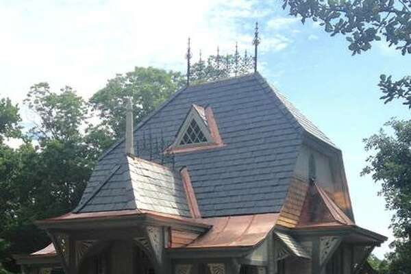 The annual Lucy Haskell birthday party, free and open to everyone, will run from 4 to 5:30 p.m. July 29 at Haskell Park, 1211 Henry St. Besides celebrating Lucy's birth on July 29, 1880, the lawn party also commemorates 133 years since her parents had the ornate playhouse, pictured, custom built for her fifth birthday party on July 29, 1885.