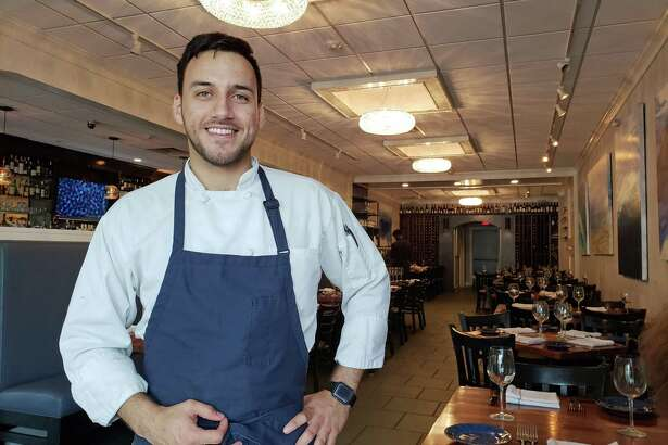 Nicholas Ramirez, chef at One29 in New Canaan.