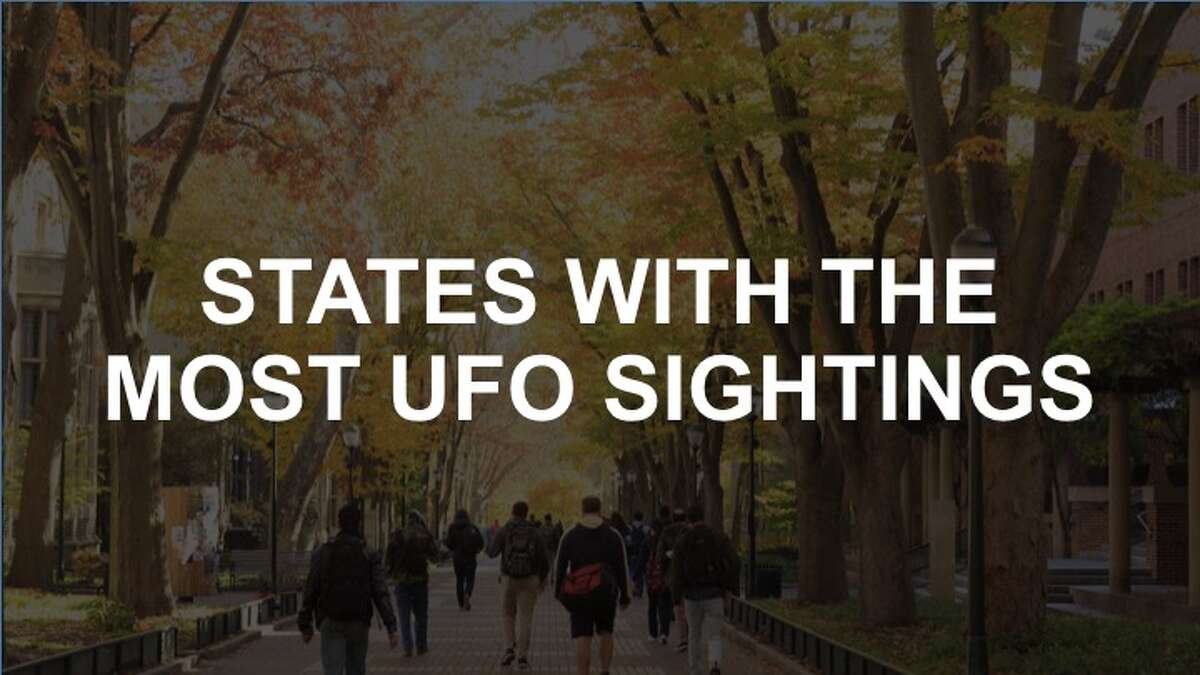 Click through the slideshow to see where Washington ranks among the states with the highest UFO sightings.