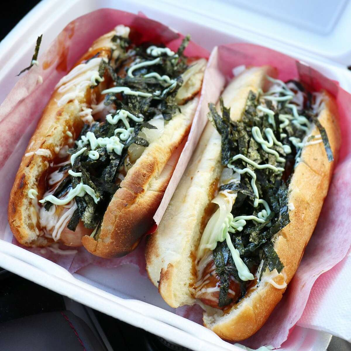 19. Vancouver, British Columbia, Canada National cuisines: 52 Japadog is not your typical street vendor. This hot dog stand crafts unique dogs with a Japanese twist to offer options like the terimayo, their signature item. It's made with teriyaki sauce, mayo and seaweed.