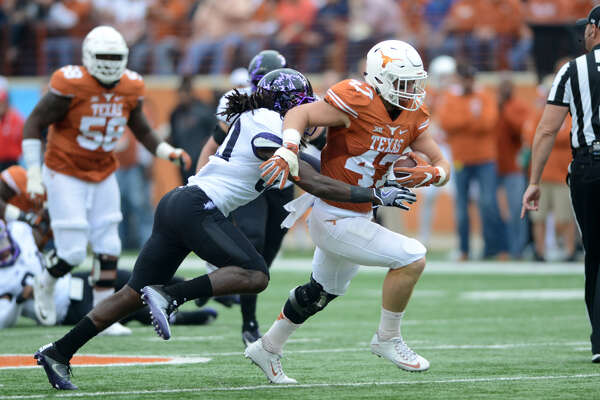UT's Andrew Beck still served as a team captain last year despite being hobbled, and his leadership is just as important as his on-field ability
