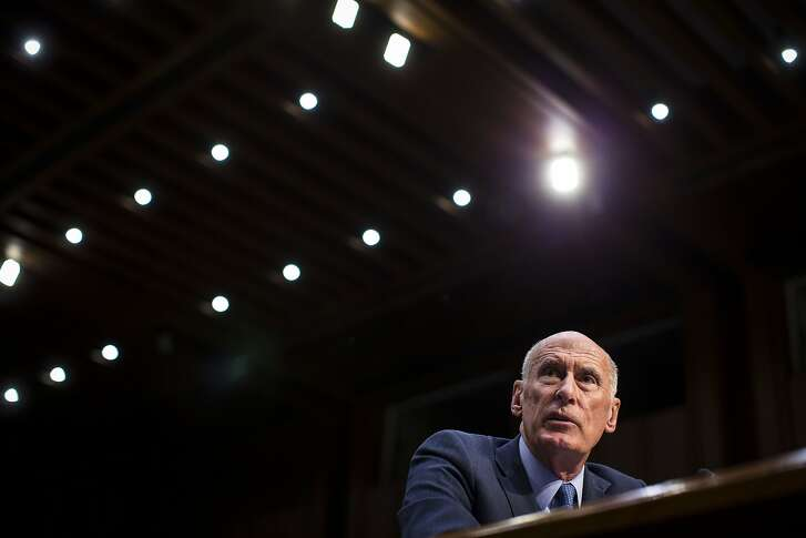 FILE -- Director of National Intelligence Dan Coats testifies during a Senate Armed Services Committee hearing on worldwide threats, on Capitol Hill in Washington, March 6, 2018. After President Donald Trump's July 2018 meeting with Russian President Vladimir Putin, Coats emerged to more publicly defend the intelligence agencies � under a president who has long denigrated them. (Al Drago/The New York Times)