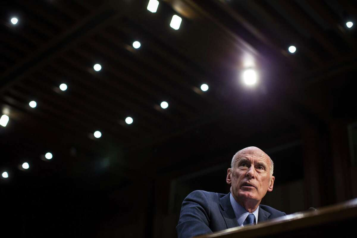 FILE -- Director of National Intelligence Dan Coats testifies during a Senate Armed Services Committee hearing on worldwide threats, on Capitol Hill in Washington, March 6, 2018. After President Donald Trump's July 2018 meeting with Russian President Vladimir Putin, Coats emerged to more publicly defend the intelligence agencies ?- under a president who has long denigrated them. (Al Drago/The New York Times)