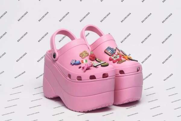 Croc's high-heeled shoes are sparking debate online as people trash the shoes as ugly.