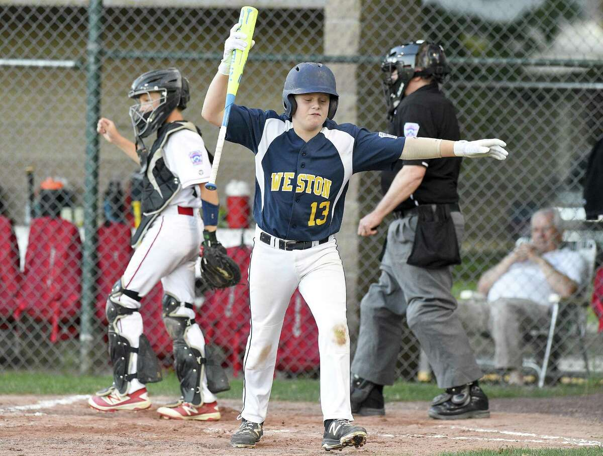 Fairfield American defeated Weston 1-0 in a Section 1 Little League tournament baseball game on July 18, 2018 in Stamford, Connecticut.