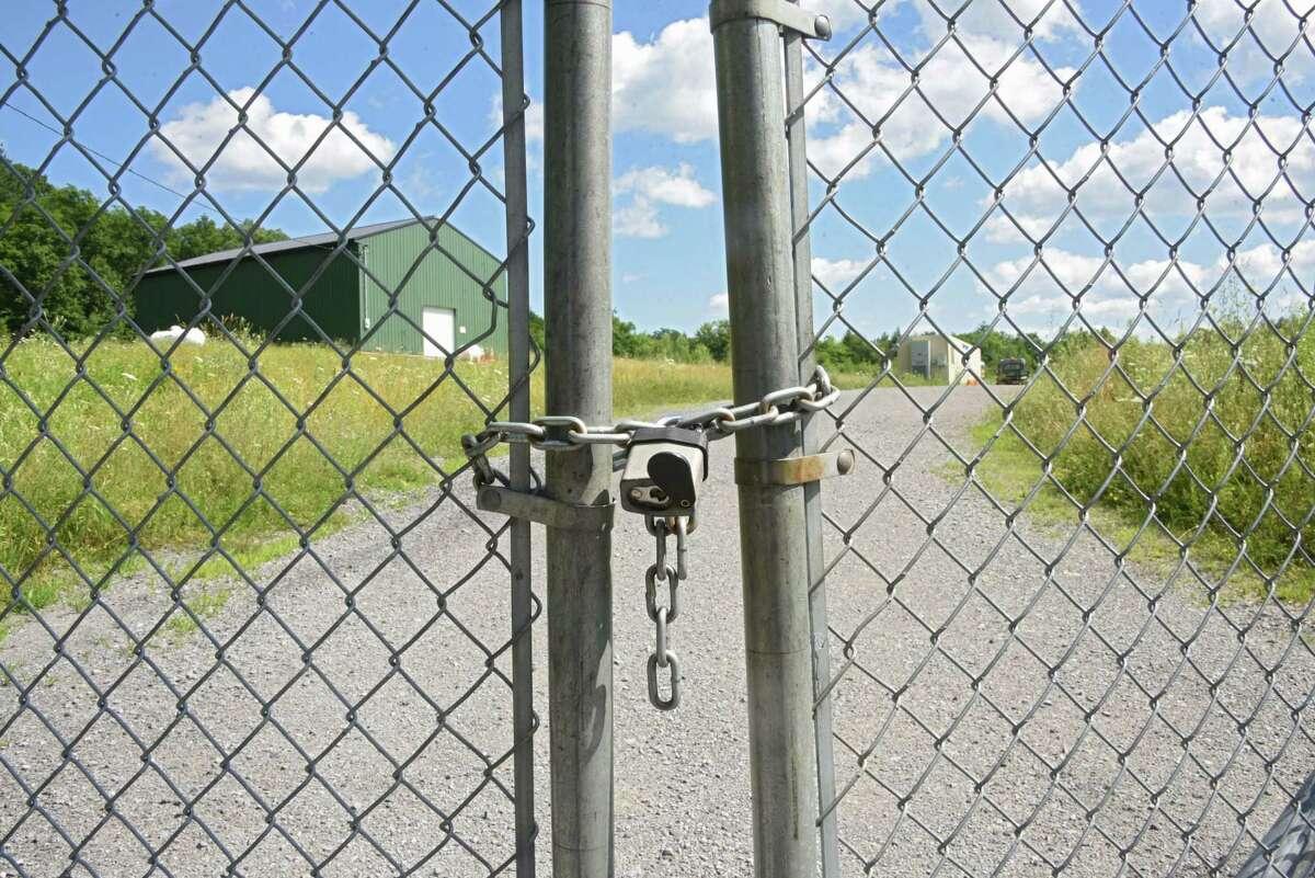 The Dewey Loeffel Landfill EPA superfund site on Wednesday, July 18, 2018 in East Nassau, N.Y. (Lori Van Buren/Times Union)