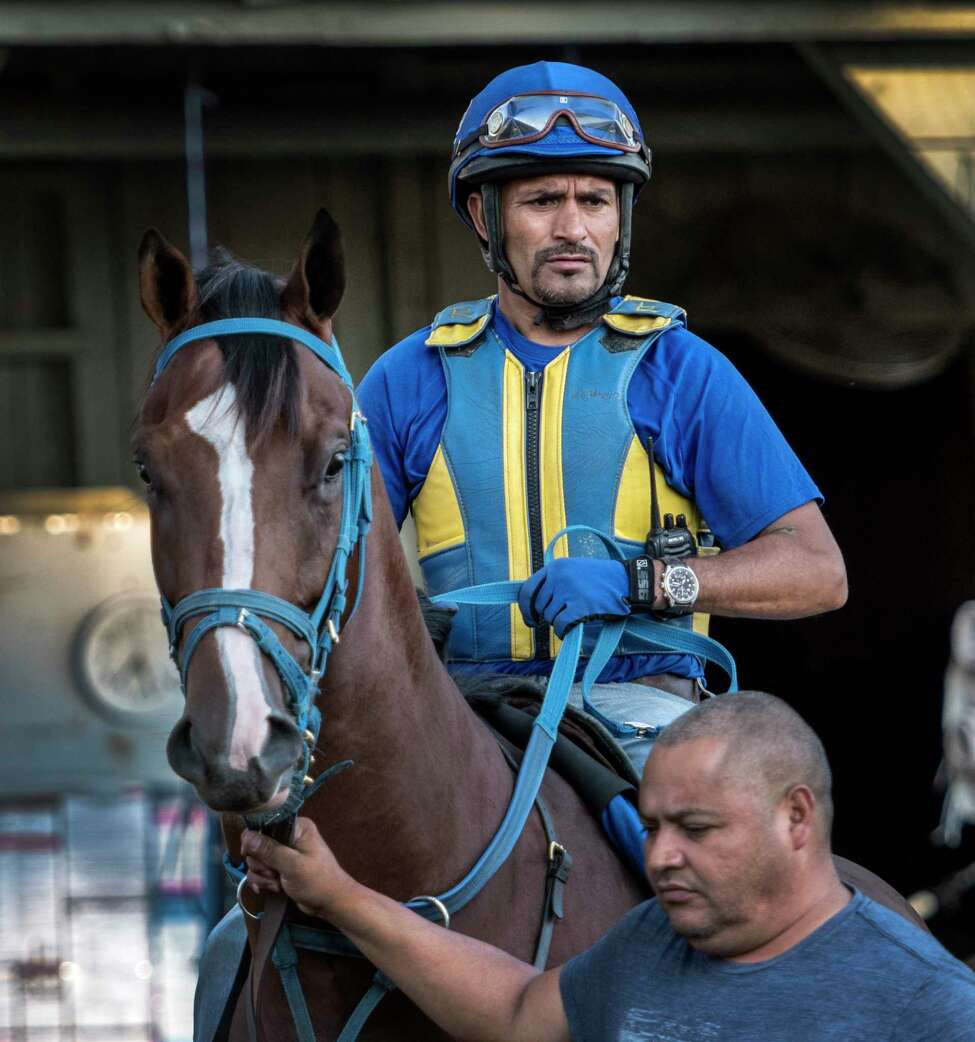 Trainer Rudy Rodriguez, who is second in the Aqueduct winter meet training standings, admits this latest postponement makes things difficult but was a necessary decision. (Skip Dickstein/Times Union)