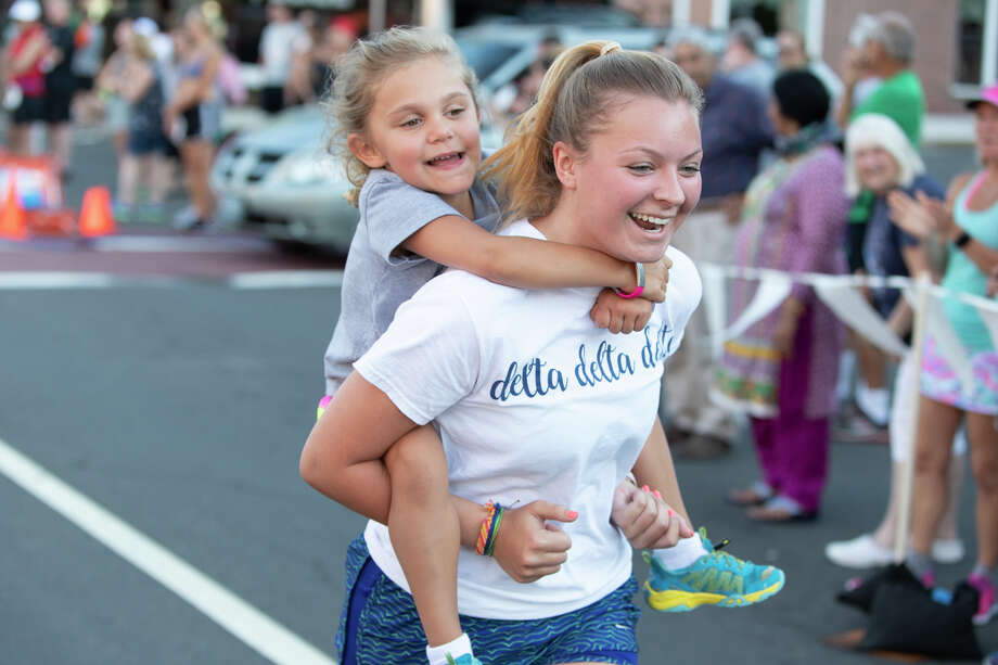 Close to 500 runners participated in the Citizen's Bank Summer Fun Run 5K Wednesday evening, July 18, in downtown Middletown. Photo: Alex Syphers | Special To The Middletown Press
