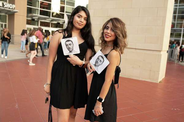 Fans at the Toyota Center in Downtown Houston for Sam Smith's The Thrill of it All Tour on Wednesday, July 18, 2018