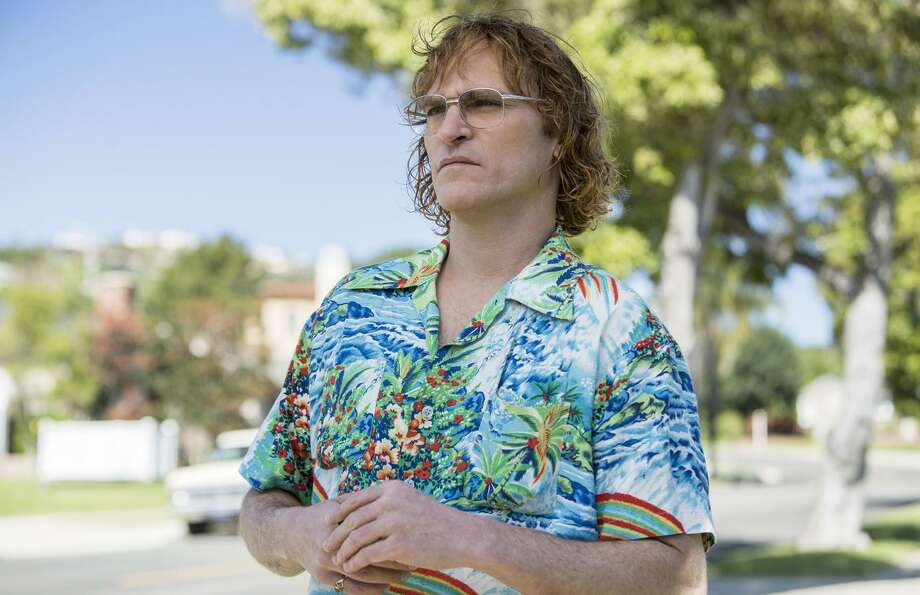 """Joaquin Phoenix is the gifted, partially paralyzed, eventually recovering alcoholic cartoonist John Callahan in an unsatisfying """"Don't Worry, He Won't Get Far On Foot."""" Photo: Scott Patrick Green / Amazon Studios / Courtesy of Amazon Studios"""