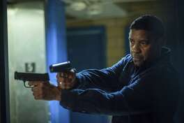 "Denzel Washington reprises his role as a retired, government-trained killing machine defending the less powerful against pernicious and violent adversaries in ""The Equalizer 2."""