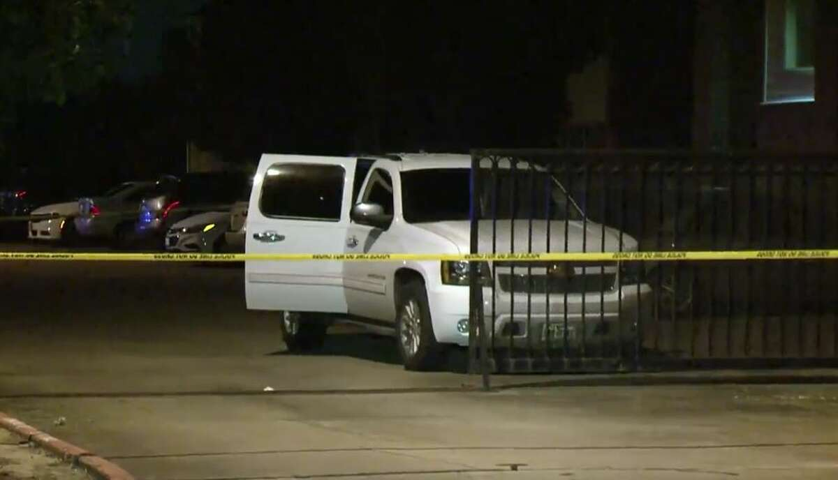 A man shot and killed an alleged carjacker at an apartment complex near the South Sam Houston Parkway East and Telephone Road, on Thursday, July 19, 2018.