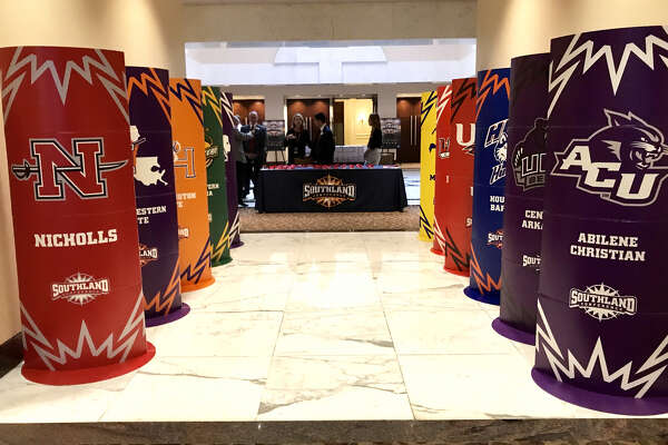 Southland Conference Football Media Day at Hilton Houston Post Oak. (Mike Tobias/The Enterprise)