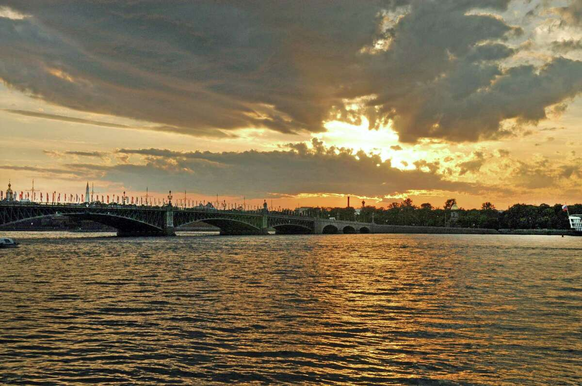 The Neva River is the lifeblood of St. Petersburg, feeding the city's network of tributaries and canals, which are spanned by 340 bridges.