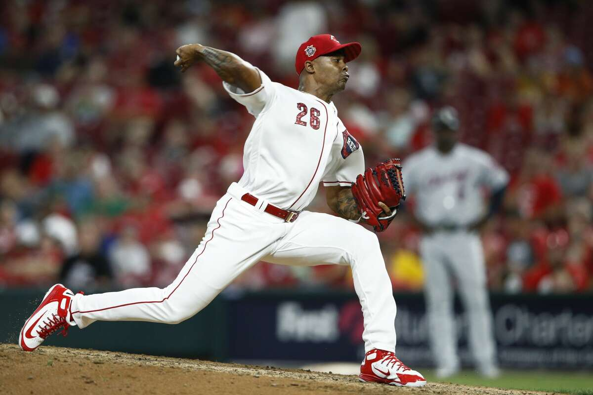 Raisel Iglesias, RP, Reds The 28-year-old Cuban had 28 saves for the Reds last season and has 19 so far this year. Iglesias is signed through the 2020 season, so the Reds would want a lot in return.