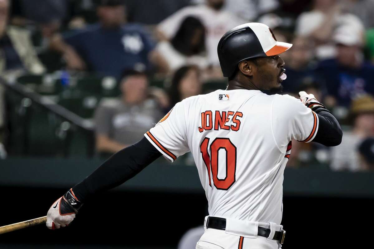 Adam Jones, OF, Orioles Jones is a free agent after this season, so the Orioles would like him to be part of their purge, but he has a full no-trade clause. The man withat least 25 home runs in each of his last seven seasons has reportedly been hesitant to waive his no-trade clause to help the Orioles facilitate a deal.