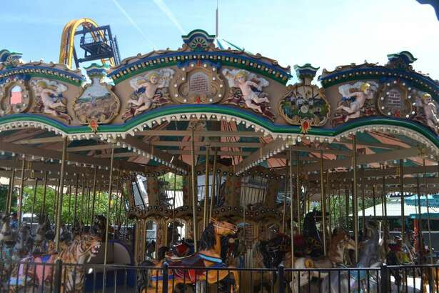 Six Flags Fiesta Texas is reopening its Grand Carousel after refurbishing it and moving it back to its original location in the German section of the park.